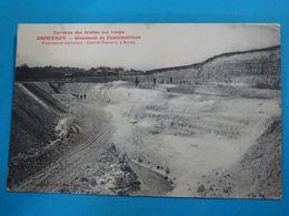 """77 ) Ormesson """" Carrières Des Grottes Aux Loups """" GABRIEL FAROULT Propriétaire """"  : Année 1918 : EDIT : - Autres Communes"""