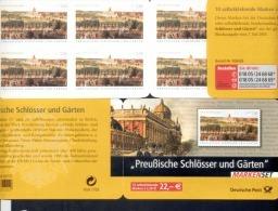 Markenheftchen Bund Postfr. MH 59 I  Preußische Schlösser Und Gärten  MNH ** - Carnet