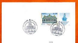 MAURY N° 3915 OPERA GARNIER  PARIS Lettre Entière N° RS 621 - 1961-....