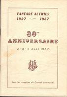 ALTWIES 30 Ans Fanfare 1957 - History