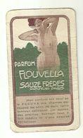"8263"" CARTA PUBBLICITARIA PARFUM FLOUVELLA-SAUZE FRERES PARFUMEURS-PARIS ""TIMBRO ""IL CANTONE PROFUMERIA SIGNORILE-TORINO - Vintage (until 1960)"