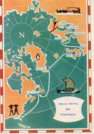 HELSINKI-FINLANDE-1958-SULLA ROTTA DEI VICHINGHI - Finlande