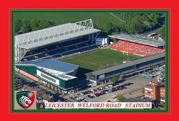 CARTE DE STADE . LEICESTER  ANGLETERRE   WELFORD ROAD  STADIUM      # DM. 015 - Football
