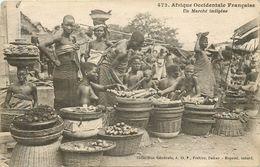 Un Marché Indigène - Senegal