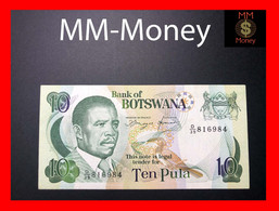 BOTSWANA 10 Pula 1992  P 12  Printer H&S  XF - Botswana