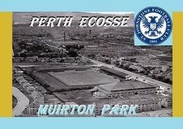 CARTE DE STADE . PERHT  ECOSSE  MUIRTON  PARK       # DM. 012 - Football