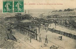 54 Aingeray  Station De Chargement Des Carrieres - Other Municipalities
