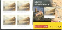 Markenheftchen Bund Postfr. MH 63 B Braubach Kultur Und Naturerbe ** - Carnet