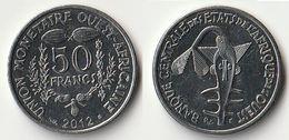 Pièce De 50 Francs CFA XOF 2012 Origine Côte D'Ivoire Afrique De L'Ouest - Ivory Coast