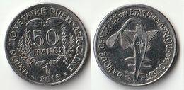 Pièce De 50 Francs CFA XOF 2015 Origine Côte D'Ivoire Afrique De L'Ouest - Côte-d'Ivoire