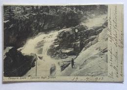 CERESOLE REALE - SCALATA DEGLI SCALARI 1903 - VIAGGIATA FP - Italia