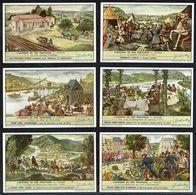 LIEBIG - FR - 6 Chromos - Reeks/série S.1550 - HISTOIRE DE NOS PROVINCES: NAMUR. - Liebig