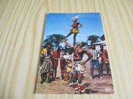 Afrique - Danseurs Acrobatiques. - Cartoline