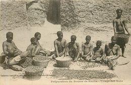 Préparation Du Beurre De Karité , Triage Des Noix - Senegal