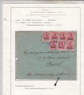 Guerre 19+14/1918  Envlp   De France Vers  L A Belgique   1917 - Guerre 14-18