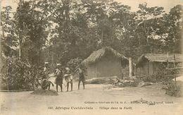 Village Dans La Foret - Senegal