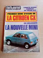 L'auto-journal - Oct. 1974 - La Nouvelle Mini : Citroen CX - Auto/Moto