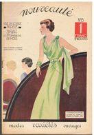 Nouveauté N°15 De 1937 Modes Variétés Ouvrages Spécial Tailleurs - Designermode