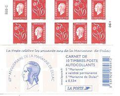 Les Soixante Ans De La Marianne De Dulac - Freimarke