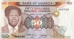 Uganda 5 Shillings, P-10 (1979) - UNC - Ouganda