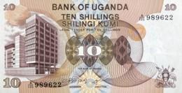 Uganda 10 Shillings, P-11b (1979) - UNC - Uganda