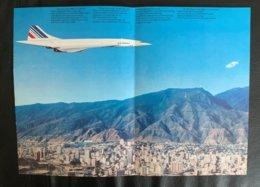10162 - Concore Paris-Rio, Paris- Caracas, Paris-Washington Time Table - Publicités