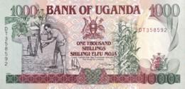 Uganda 1.000 Shillings, P-34b (1991) - UNC - Uganda