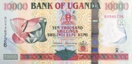 Uganda 10.000 Shillings, P-41a (2001) - UNC - Uganda