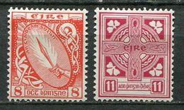 Ireland Mi# 106-7 Ungebraucht Falz/MH - National Symbols - Unused Stamps