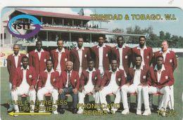 Trinidad & Tobago, 008CTTC, Team, Cricket,  2 Scans. - Trinité & Tobago