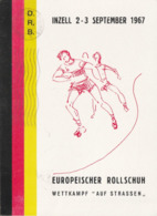 22277 - GERMANIA -  - I°INZELL 2-3 SEPT. 1967 - CAMPIONATI EUROPEI I° GIORNO EMISSIONE - Cartes Postales