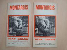 LOT DE 2 PLAN URBAIN MONTARGIS - Altri