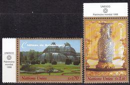 UNO-Genf, 1998, 352/53,  MNH **, UNESCO-Welterbe: Schloss Und Park Von Schönbrunn, - Geneva - United Nations Office