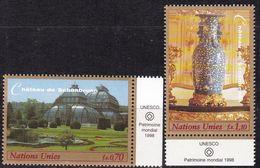 UNO-Genf, 1998, 352/53,  MNH **, UNESCO-Welterbe: Schloss Und Park Von Schönbrunn, - Office De Genève
