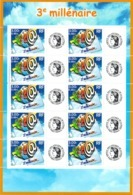 FRANCE - YT N° 3365B - Feuille - Neuf ** - MNH - Gomme Mate - France