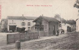 54 Einville. L'arrivée Du Train En Gare - Andere Gemeenten