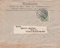 ÖSTERREICH - BRIEF 1921 WIEN  //T23 - Lettres & Documents