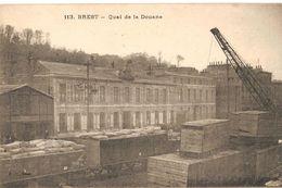Brest - 113 - JD -Port De Commerce - Quai De La Douane - - Brest