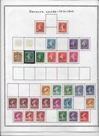 France Type Semeuse Camée - Collection Vendue Page Par Page - Timbres Neufs * Avec Charnière / Oblitérés - TB - 1906-38 Semeuse Con Cameo