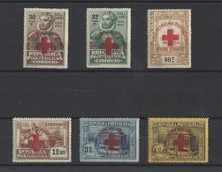 PORTUGAL.  YT Timbres De Franchise  N° 97/102   Neuf **  1936 - Neufs