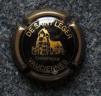 Capsule CHAMPAGNE - DE SAINT LEGER VAUCIENNES - Eglise De Vauciennes - Champagne