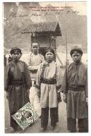 TONKIN - Region De Cabbing (Quang-Uyen) - Femmes Longs Et Jeune Homme - Ed. P. Dieulefils, Hanoï - Viêt-Nam