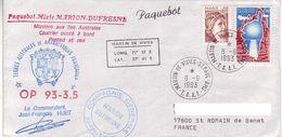 Marion Dufresne FSAT TAAF. 08.06.93 SPA. Op 93-3.5 - Brieven En Documenten