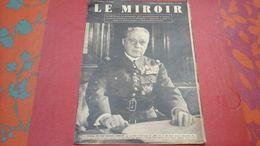 WW2 Le Miroir N°1085 5 Septembre 1939 Général Gamelin Deux Jours Après La Déclaration De Guerre - Revues & Journaux