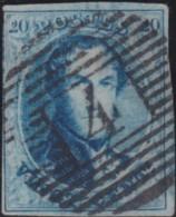 Belgie      .    OBP     .    11A   .         O     .     Gebruikt   .   /   .   Oblitéré - 1858-1862 Medallions (9/12)
