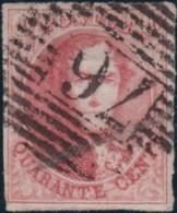 Belgie      .    OBP     .   12A   ( 2 Scans)     .         O     .     Gebruikt   .   /   .   Oblitéré - 1858-1862 Medallions (9/12)