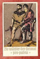 P 43 A Bundesfeier Tell + Tellknabe Waechter Der Heimat + ZF, St Moritz Nach Sistov 1910 (94756) - Interi Postali