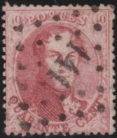 Belgie      .    OBP     .   16 B        .         O     .     Gebruikt   .   /   .   Oblitéré - 1863-1864 Medallions (13/16)