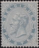 Belgie      .    OBP     .    39  (2 Scans)      .    *     .    Ongebruikt Met Gom   .   /    .    Neuf Avec Gomme * - 1883 Leopold II