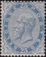 Belgie      .    OBP     .    40  (2 Scans)      .    *     .    Ongebruikt Met Gom   .   /    .    Neuf Avec Gomme * - 1883 Leopold II